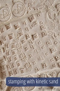 kinetic-sand-stamping