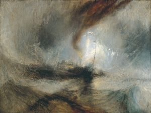 JMW Turner Snow Storm - Steam Boat off a Harbours Mouth 1842
