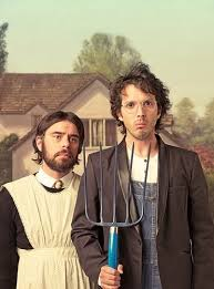 Flight of the Concords american gothic