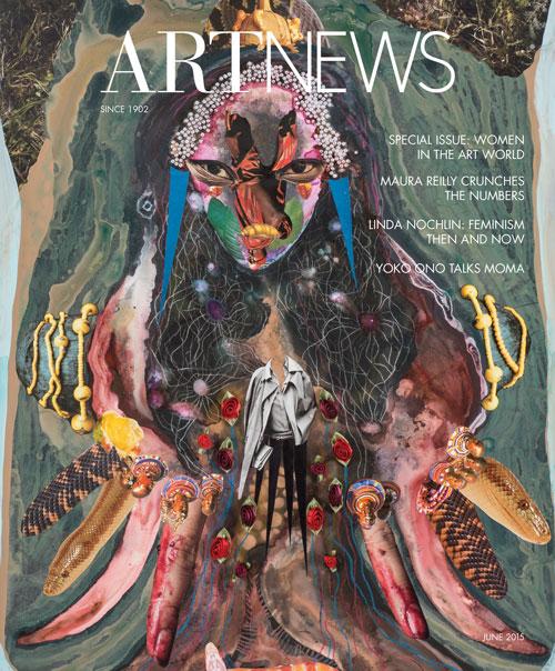 artnews women in the artworld