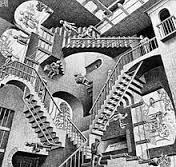 escher stairwell