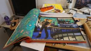 Rachel Feinstein collage